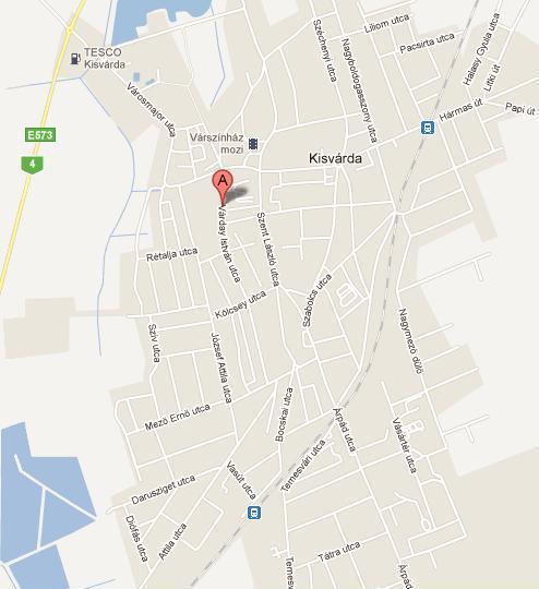 Hiszi Map Kft T Szabolcs Szatmar Bereg Megye Terkepe Kisvardai